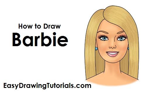 500x315 To Draw Barbie