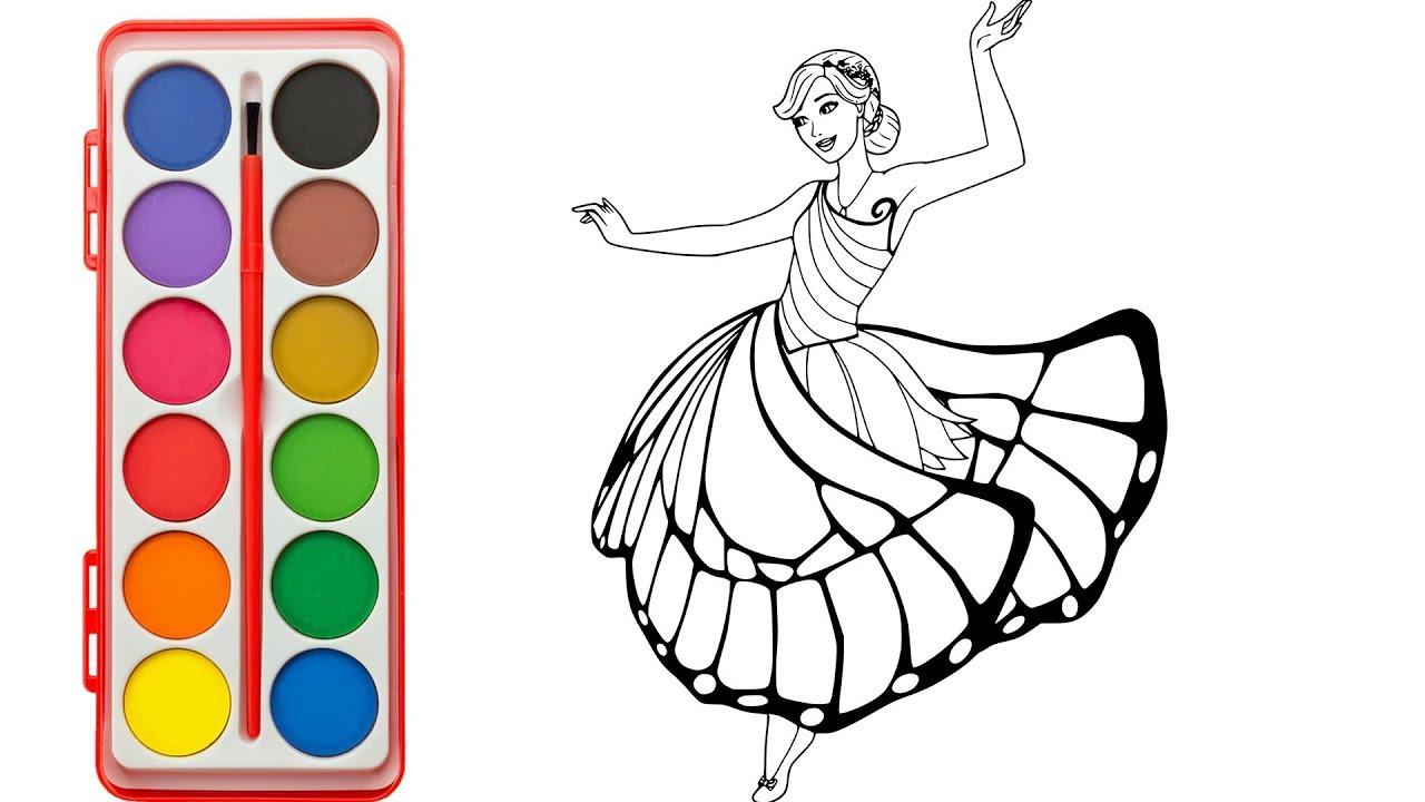 1280x720 How To Draw Barbie Princess