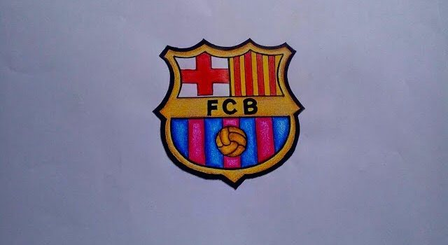 Barcelona Logo Drawing At Getdrawings Free For Personal Use