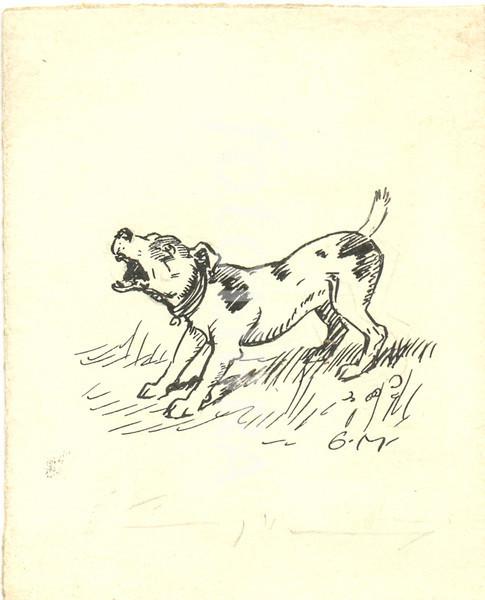 485x600 Original Pennd Ink Sketch By George Morrow (C1869 1955)