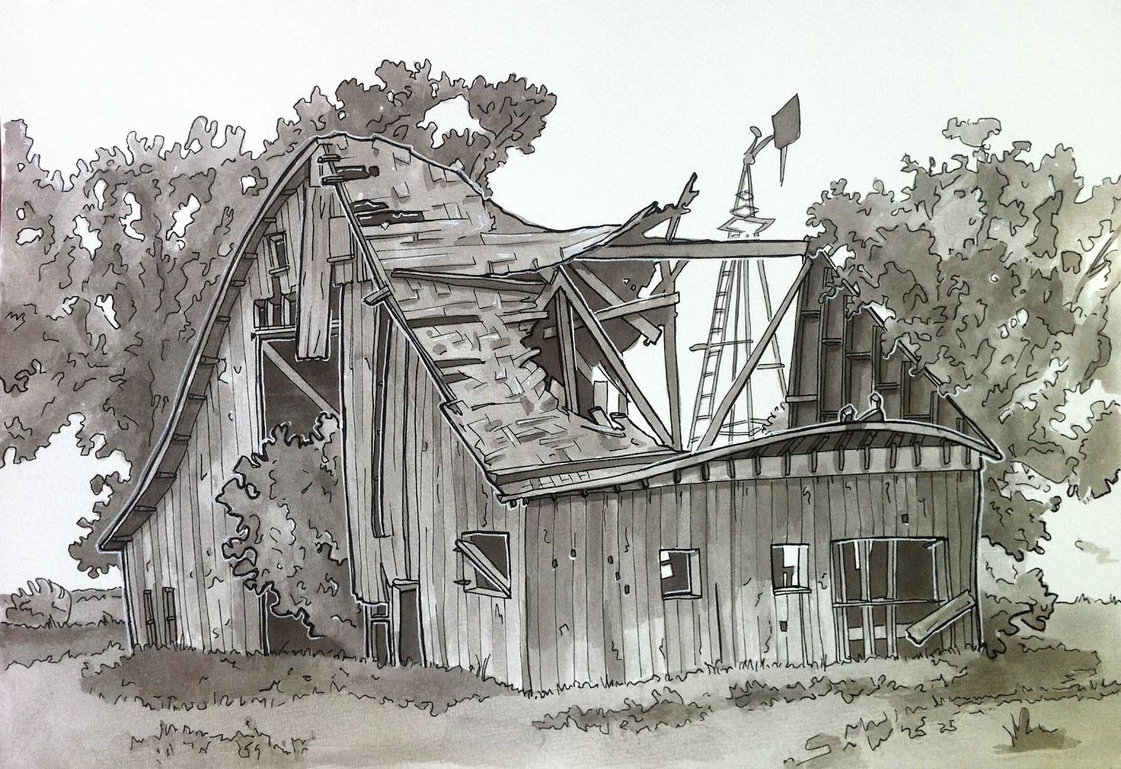 1600x1098 Old Barn Drawings Old Barns, Schools, Homes Amp Churches