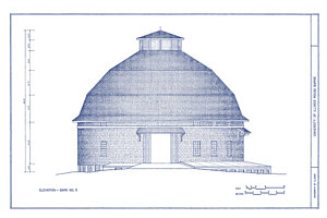 300x200 Vintage Barns Drawings