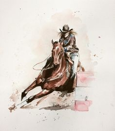 236x269 Jody Barrel Racing By Equineartistforever On Horses