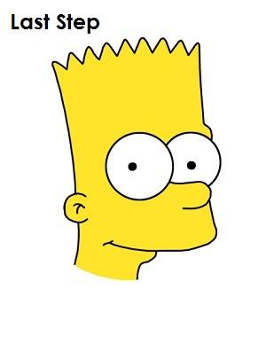300x388 To Draw Bart Simpson