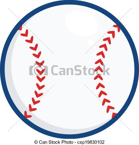 450x469 Baseball Ball Illustration. Illustration Isolated On White Vector