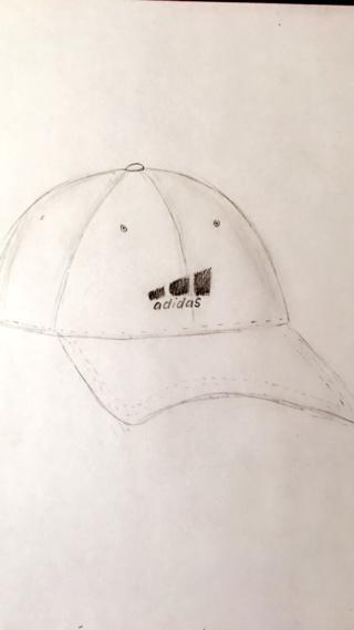320x569 Adidas White Hat Sketch