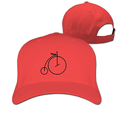 385x385 Penny Farthing Bicycle Line Drawing Baseball Caps For The Four