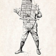 180x180 Baseball Catcher Cage