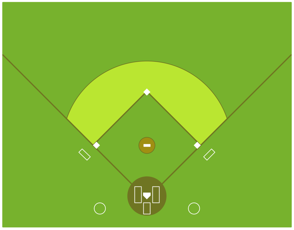 baseball diamond drawing at getdrawings com free for personal use