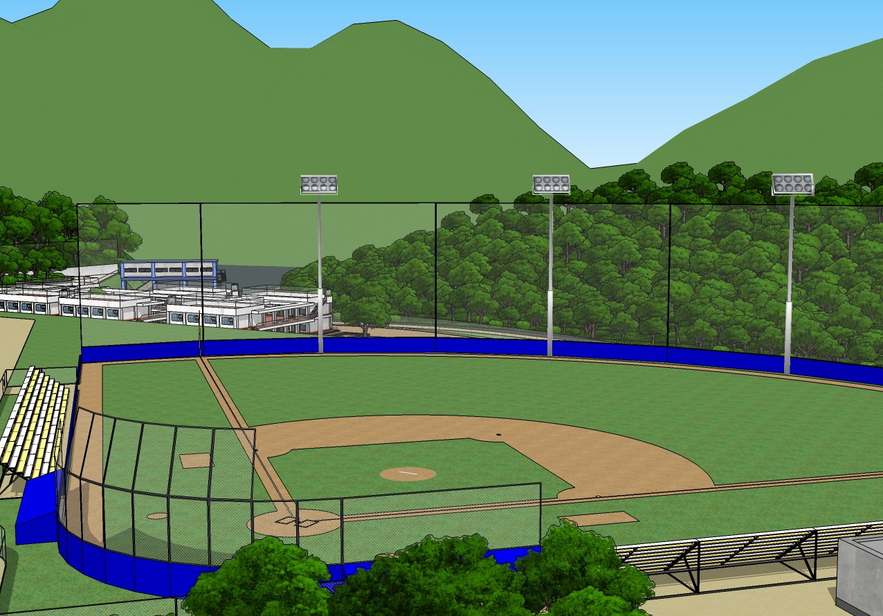 1276x891 Drawing Of Baseball Field How To Draw A Baseball Field Free
