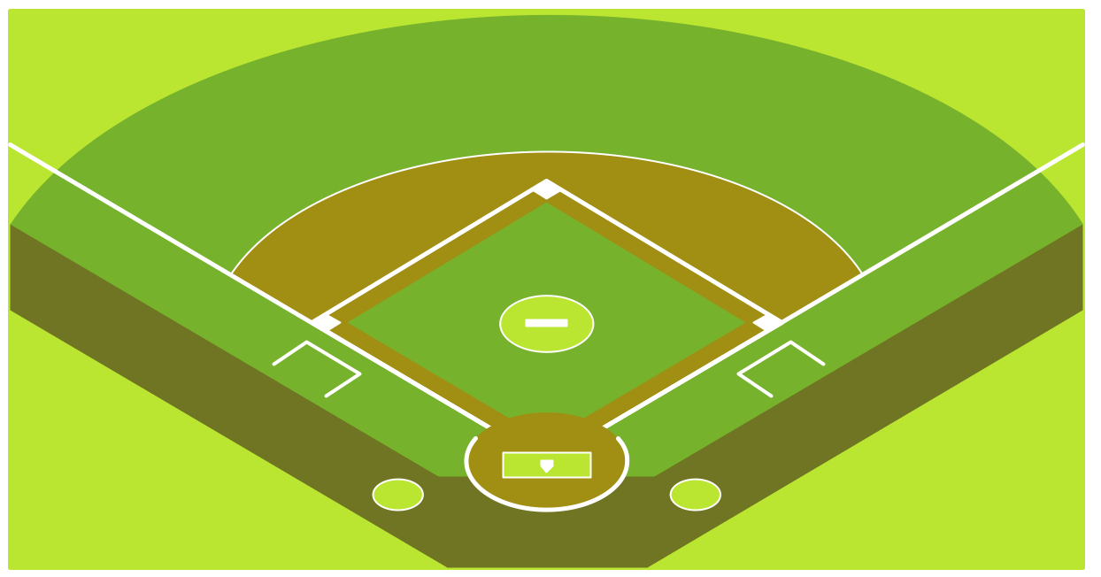 1244x652 Drawing Of Baseball Field How To Draw A Baseball Field Free