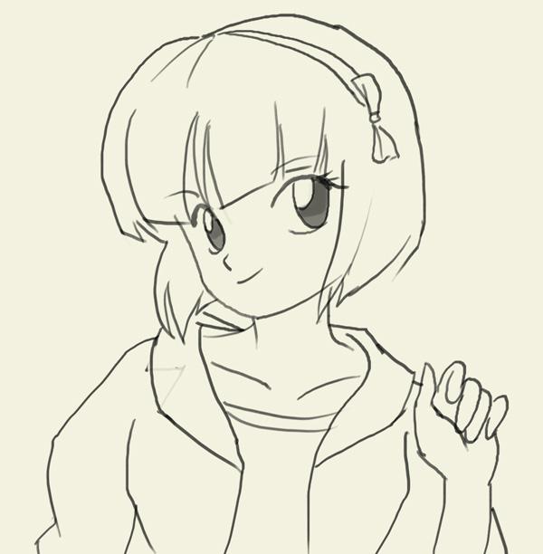 600x612 How To Draw Nabiki Tendo