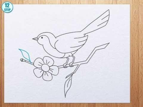 480x360 How To Draw Bird