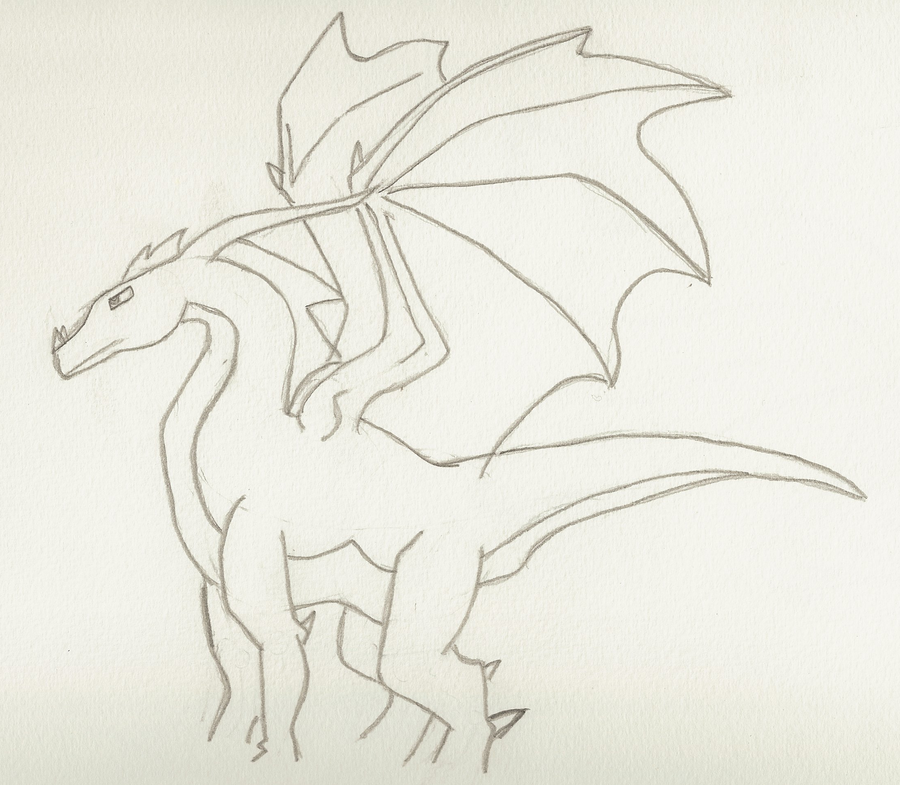 900x785 Basic Dragon By Abyssinalphantom