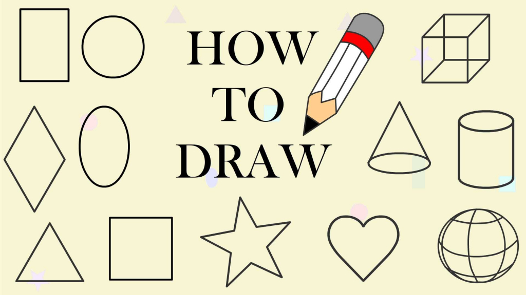 1024x576 Basic Drawing For Children Learn To Draw Shapes For Kids 2d