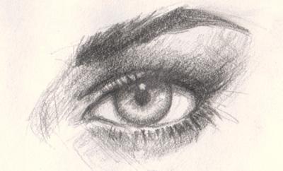 400x242 How To Draw Eye