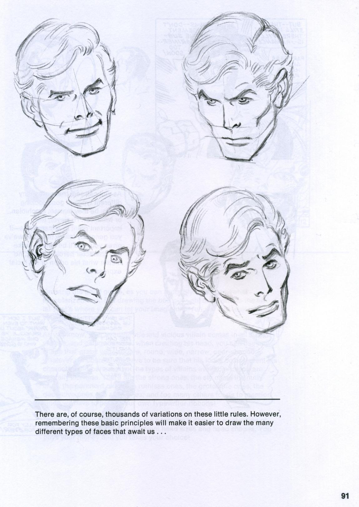 1150x1623 The Human Head According To John Buscema! Mars Will Send No More