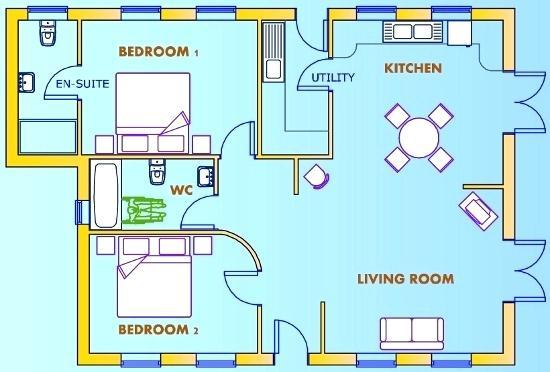 550x372 House Plan Drawing Floor Plan Basic House Plan Drawing Program