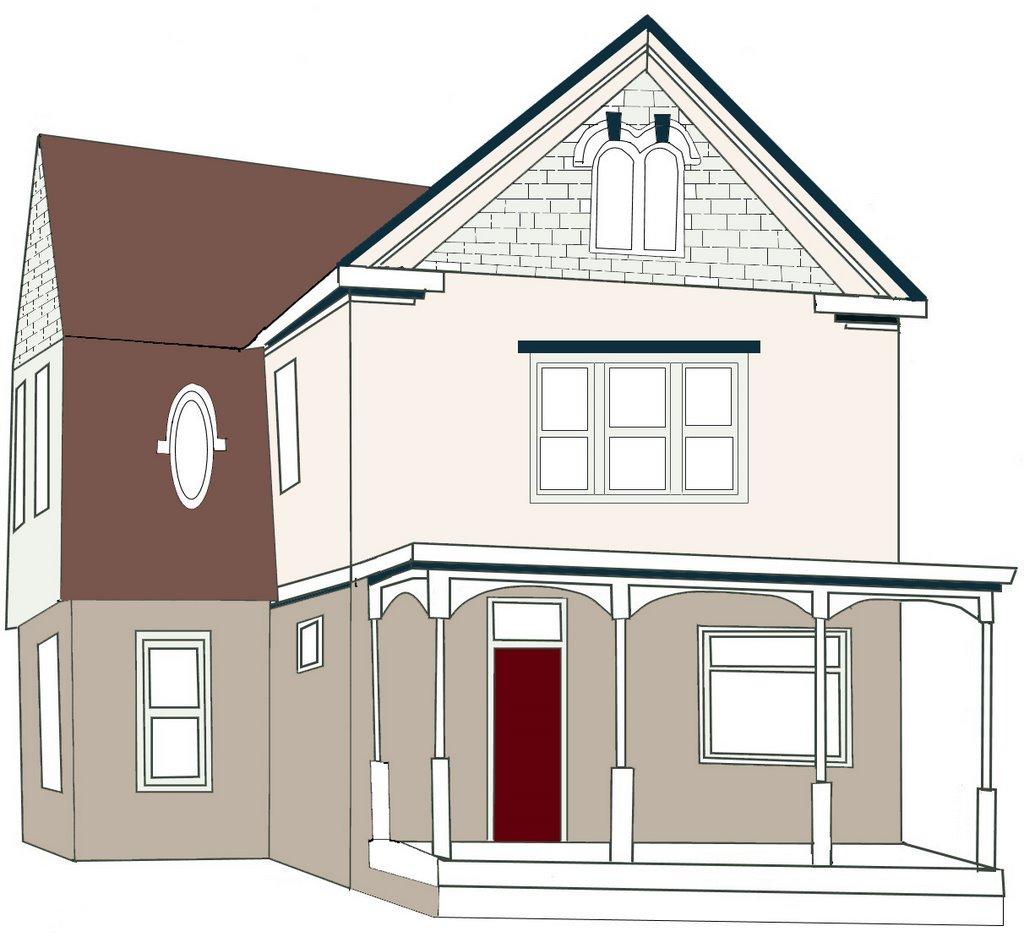 1024x937 Restoring A Dream House