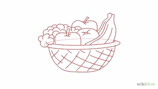550x309 Draw A Basket Of Fruit Journal Ideas, Journal And Tutorials