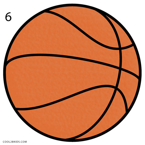 480x480 How To Draw A Basketball (Step By Step Pictures) Cool2bkids