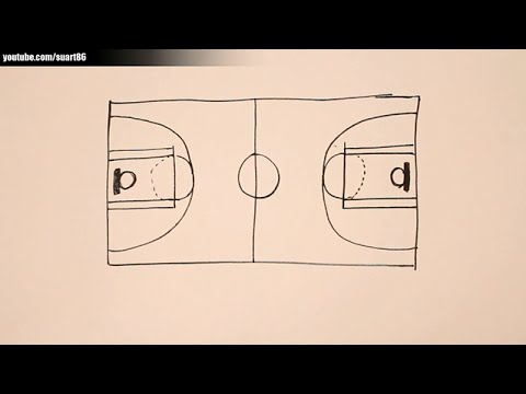 480x360 How To Draw A Basketball Court