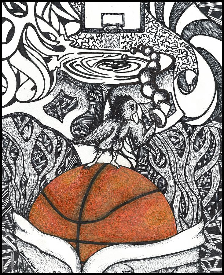 Basketball Drawing At Getdrawings Com Free For Personal Use