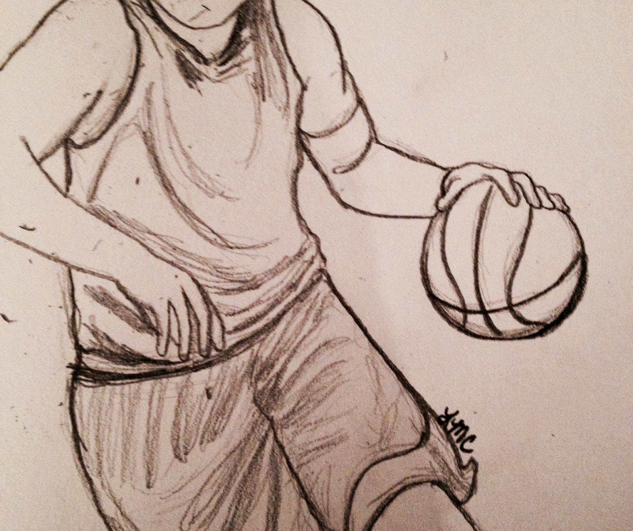 2048x1716 Cool Basketball Drawings Basketball Lisa Chelkowski