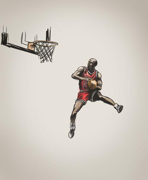 500x606 Awesome Basketball Drawing Art Drawings, Sports