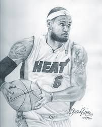 201x251 Illustration Drawing Picture Art Sports Basketball Lebron Wade