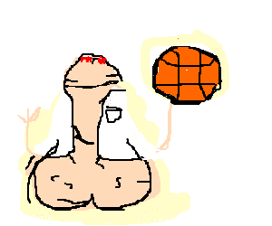 300x250 Penis In A Lab Coat Plays Basketball