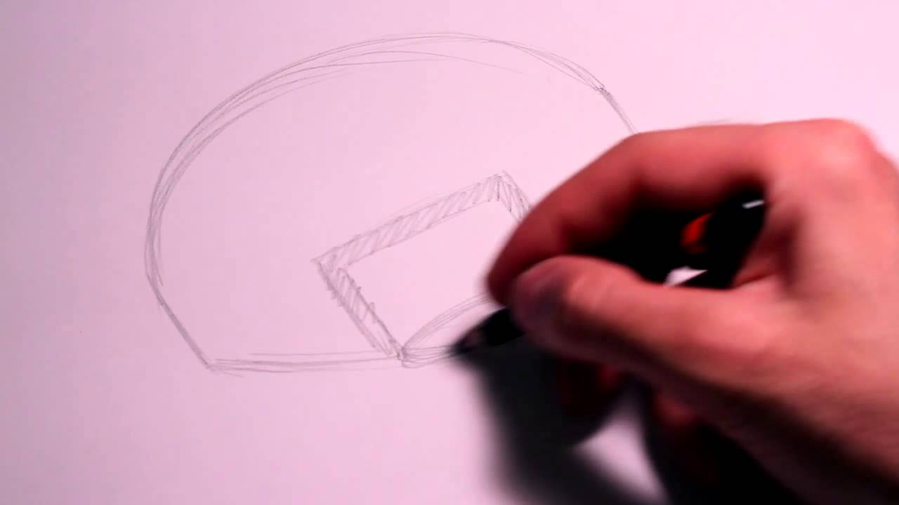 1280x720 How To Draw A Basketball Backboard On Paper