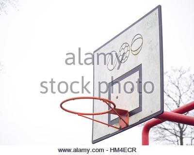 400x320 Basketball Pitch Court Stock Photo 4190285