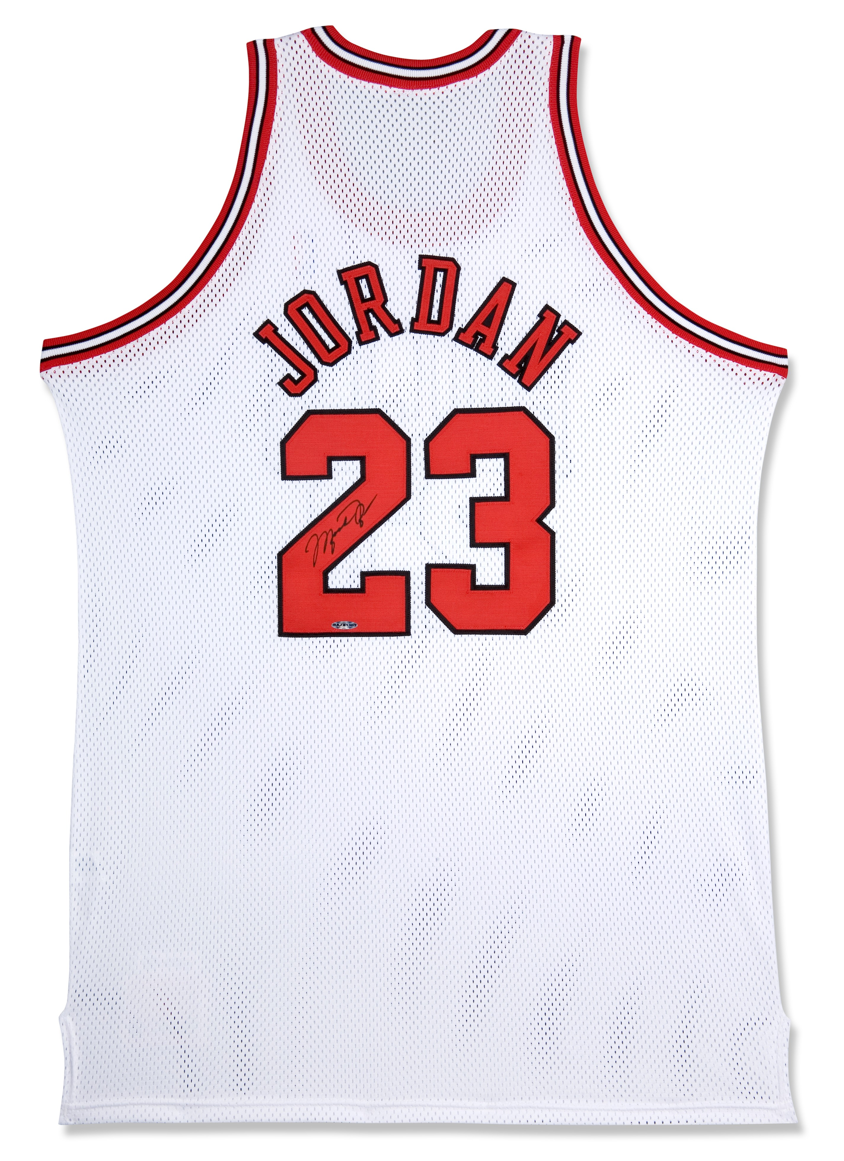 2847x3918 Michael Jordan Signed Chicago Bulls Home Jersey