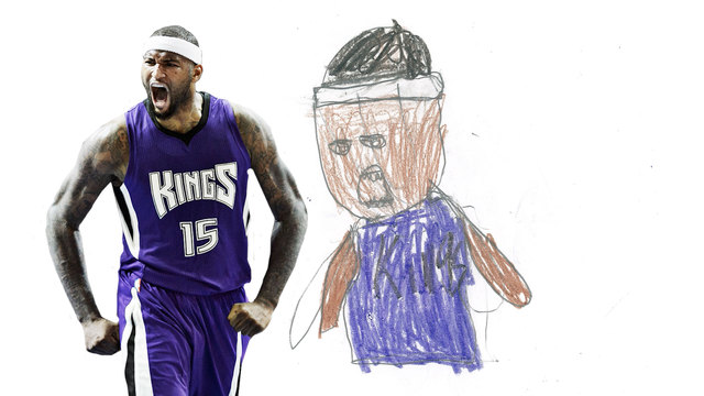 640x360 Kings Guess Kids' Drawings Of Teammates Sacramento Kings