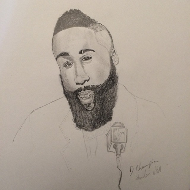 640x640 Untitled J.harden Nba Player Houston Sacramento Basketball