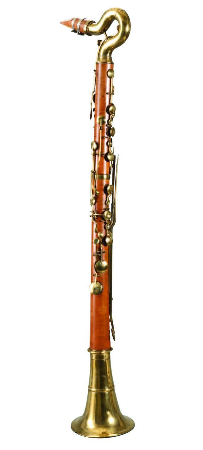686x1519 Bass Clarinet (A. Sax Ca. 1840) Woodwind Instruments