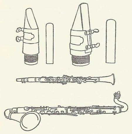 450x459 Clarinet