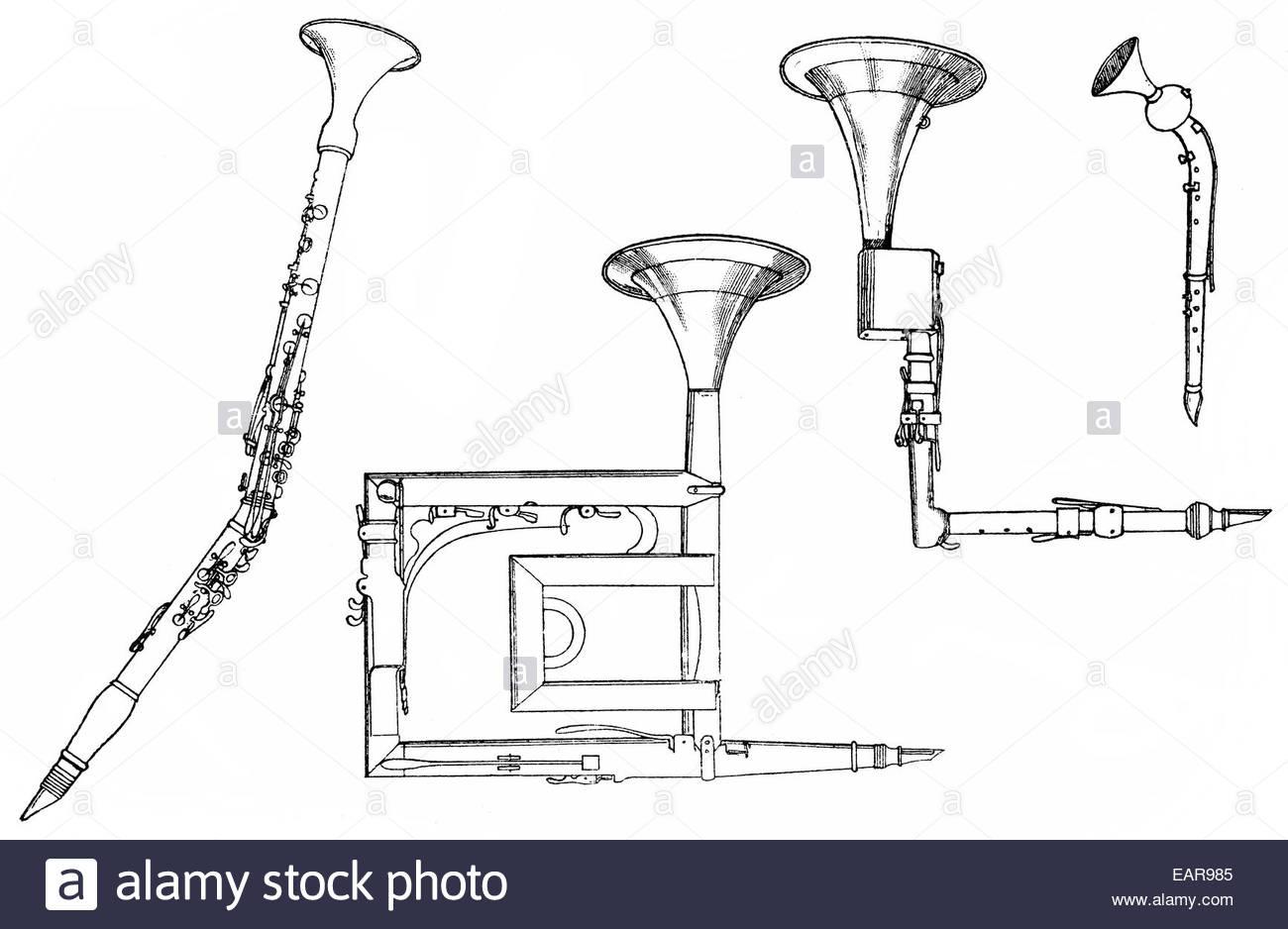 1300x938 Woodwind Instruments, Basset Horn Or Corno Bassetto, Basset