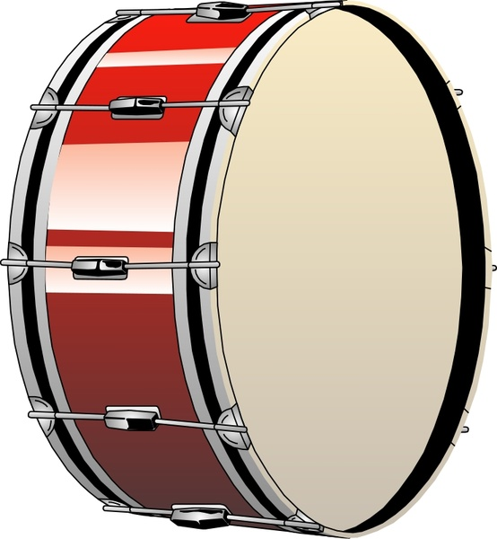 554x600 Bass Drum Free Vector In Open Office Drawing Svg ( Svg ) Vector