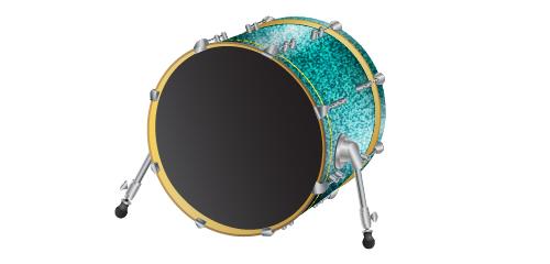 500x240 Illustrator Tutorial Vector Drums Kit