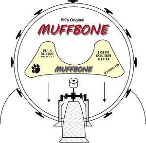 300x294 Pk's Original Muffbone Bass Drum Muffler American Recorder