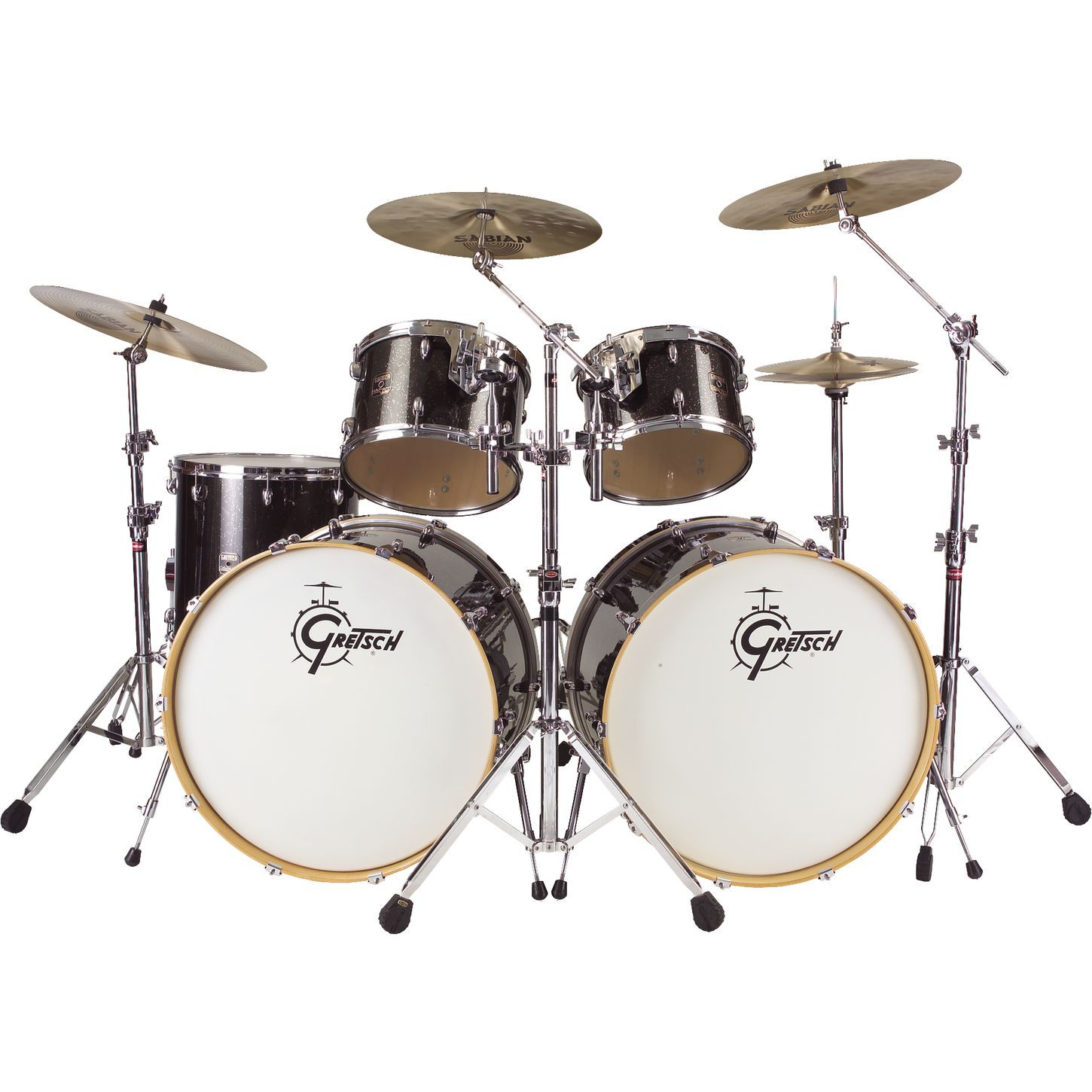 1450x1450 Ludwig Double Bass Drum Set