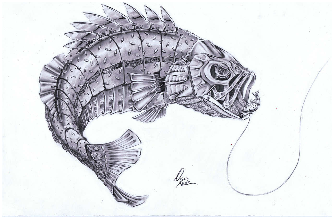 1280x832 Drawings Of Largemouth Bass Tattoo Designs Fishing For Fun