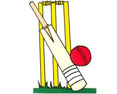 236x190 Free Online Cricket Bat Amp Ball Colouring Page Cricket Bat