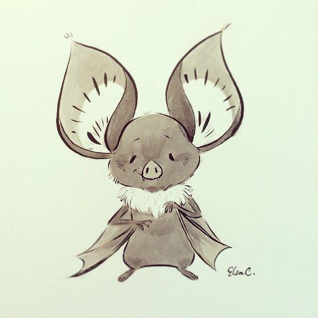 640x640 Little Bat' By Elsasketch On Instagram Art Bats