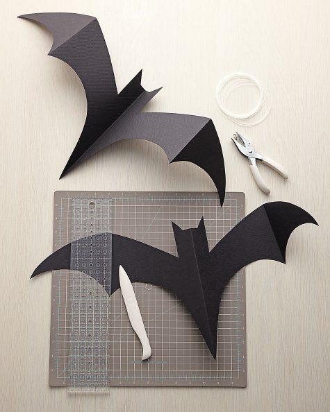 475x594 Hanging Bats Bats, Martha Stewart And Craft