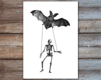 340x270 Bat Art Etsy
