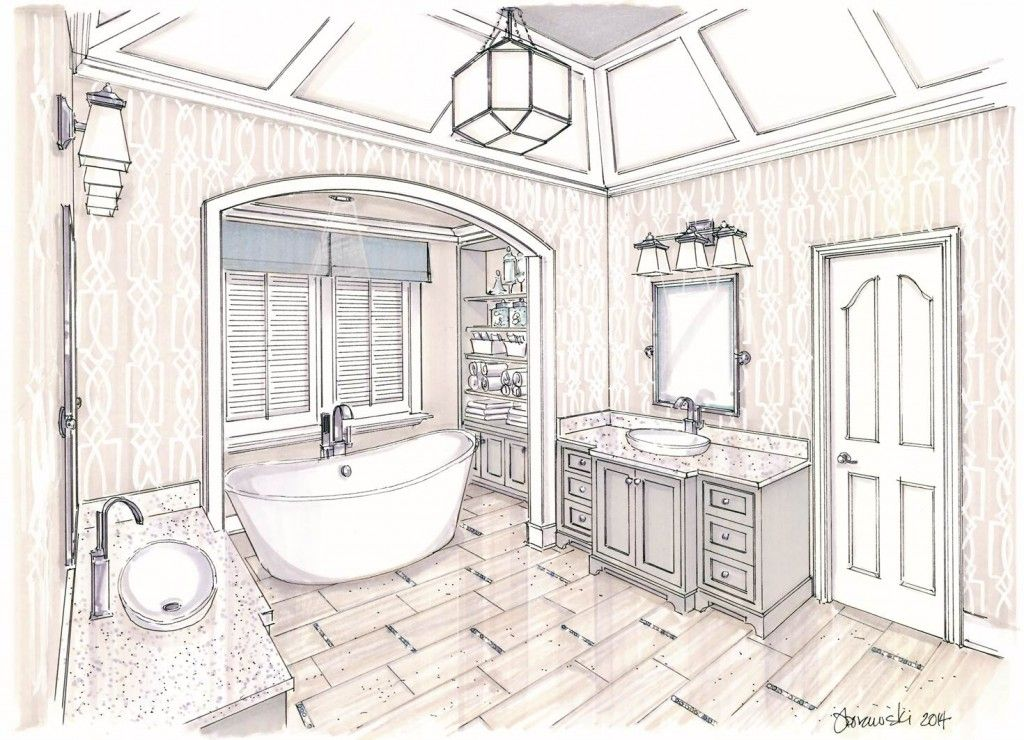 1024x740 Pin By Alia On Master Bathrooms, Master Bath