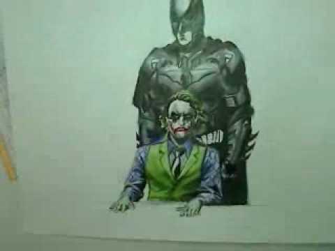 480x360 Batman And Joker Drawing